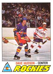 1977-78 O-Pee-Chee #343 Dave Hudson