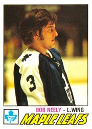 1977-78 O-Pee-Chee #347 Bob Neely