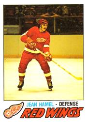1977-78 O-Pee-Chee #348 Jean Hamel