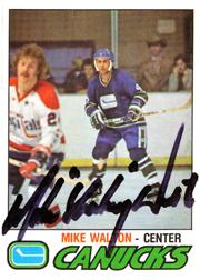 1977-78 O-Pee-Chee #350 Mike Walton