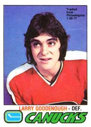 1977-78 O-Pee-Chee #359 Larry Goodenough