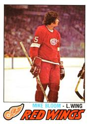 1977-78 O-Pee-Chee #375 Mike Bloom