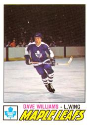 1977-78 O-Pee-Chee #383 Tiger Williams