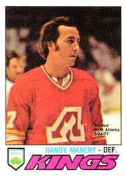 1977-78 O-Pee-Chee #389 Randy Manery