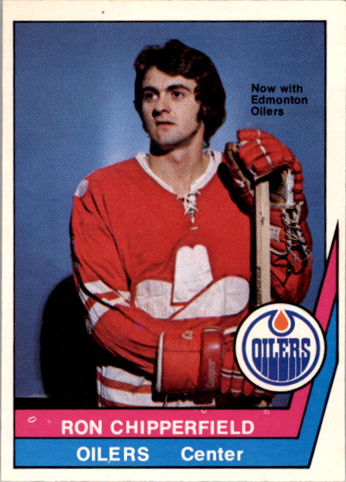 1977-78 O-Pee-Chee WHA #10 Ron Chipperfield