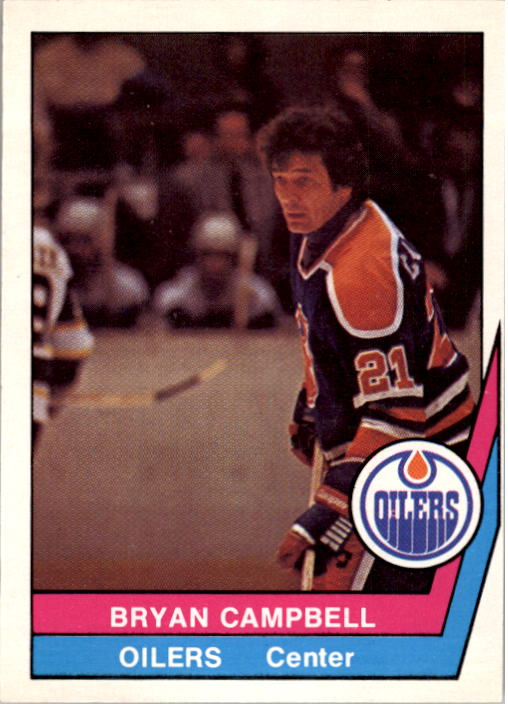 1977-78 O-Pee-Chee WHA #22 Bryan Campbell