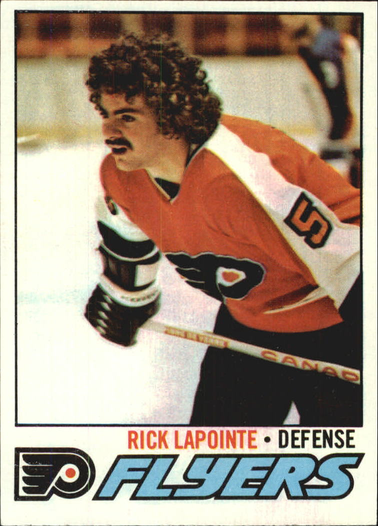 1977-78 Topps #152B Rick Lapointe COR/(with mustache)