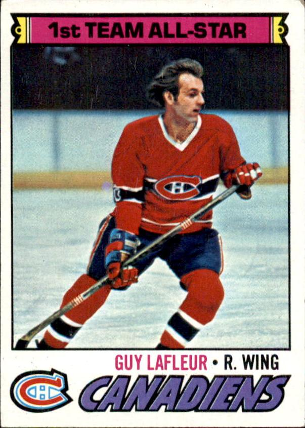 1977-78 Topps #200 Guy Lafleur AS1