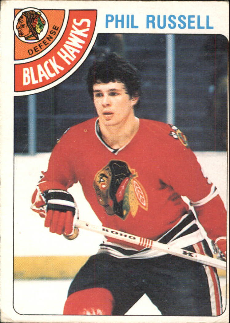 1978-79 O-Pee-Chee #12 Phil Russell