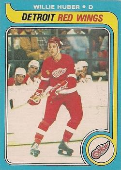 1979-80 O-Pee-Chee #17 Willie Huber RC