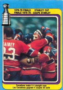 1979-80 O-Pee-Chee #83 Stanley Cup Finals