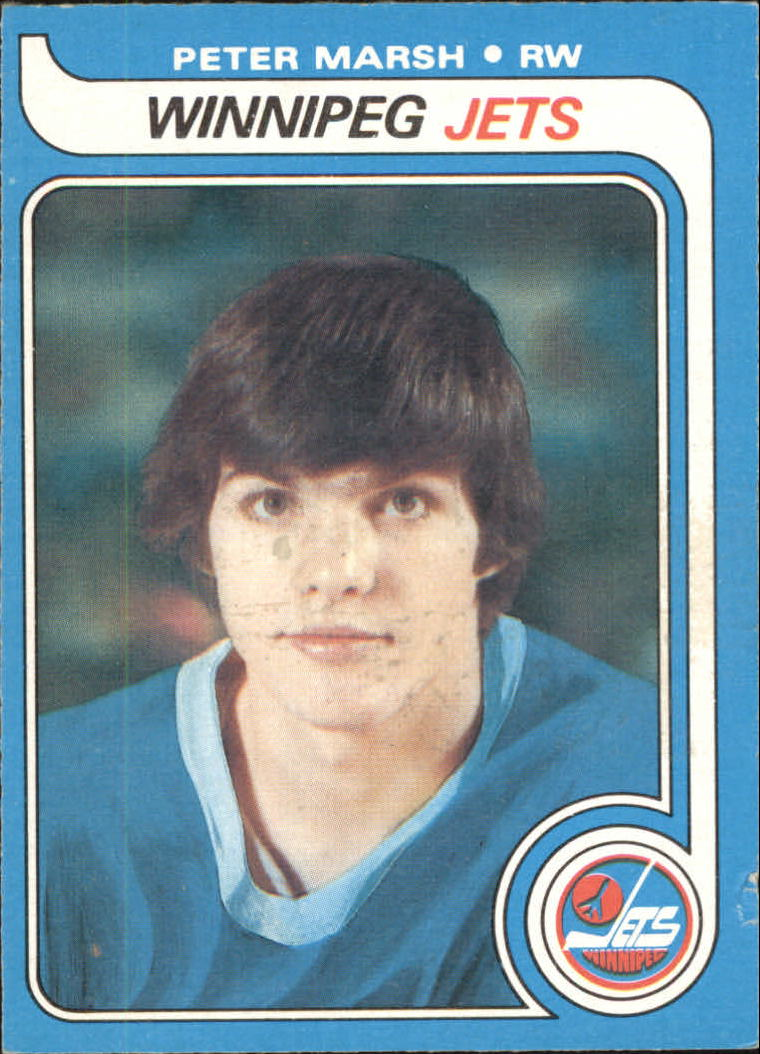 1979-80 O-Pee-Chee #147 Peter Marsh RC