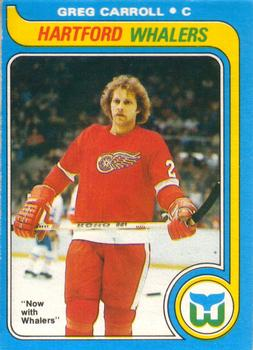 1979-80 O-Pee-Chee #184 Greg Carroll RC