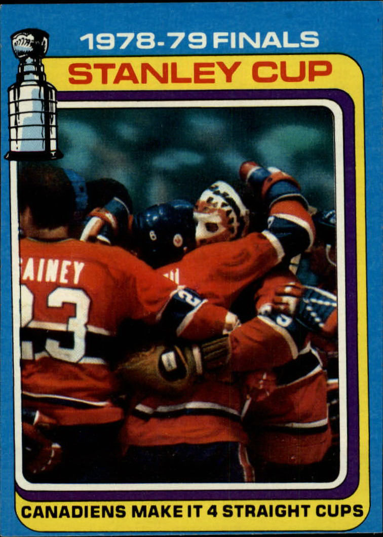 1979-80 Topps #83 Stanley Cup Finals