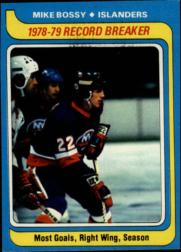 1979-80 Topps #161 Mike Bossy RB