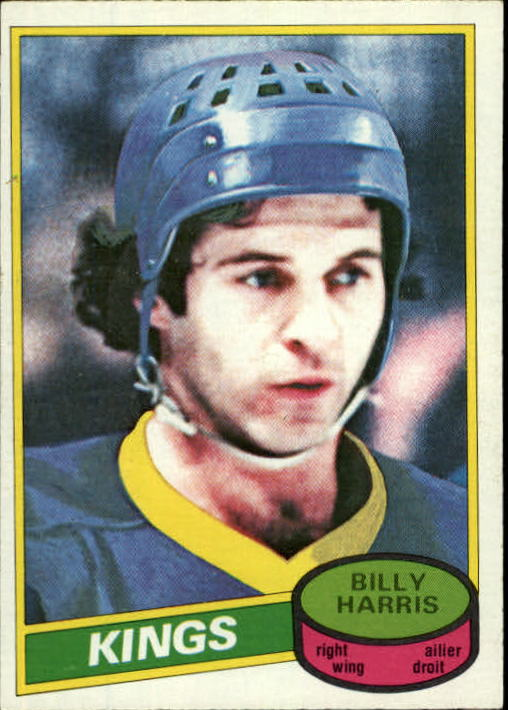 1980-81 O-Pee-Chee #46 Billy Harris