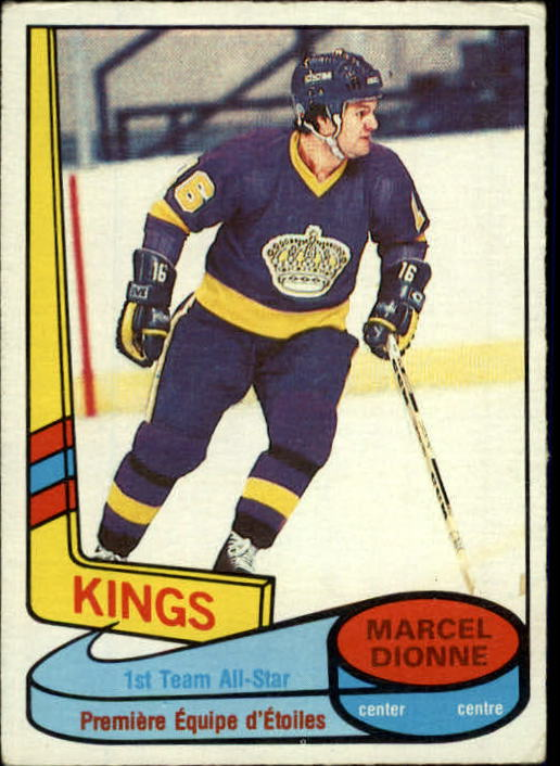 1980-81 O-Pee-Chee #81 Marcel Dionne AS1