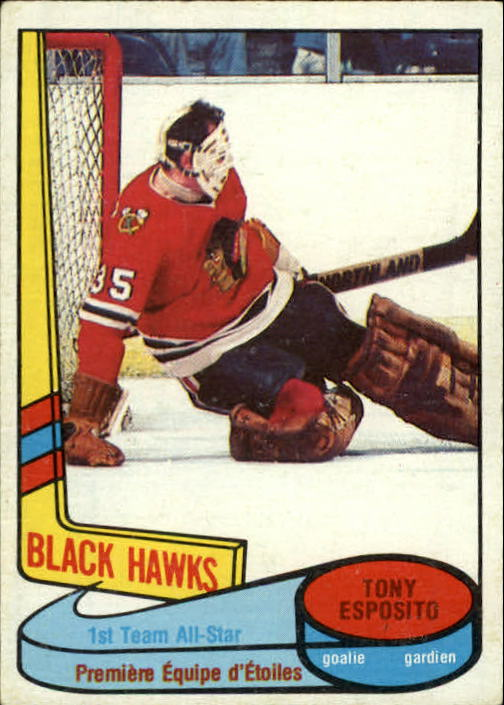 1980-81 O-Pee-Chee #86 Tony Esposito AS1