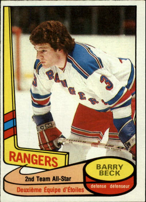 1980-81 O-Pee-Chee #90 Barry Beck AS2