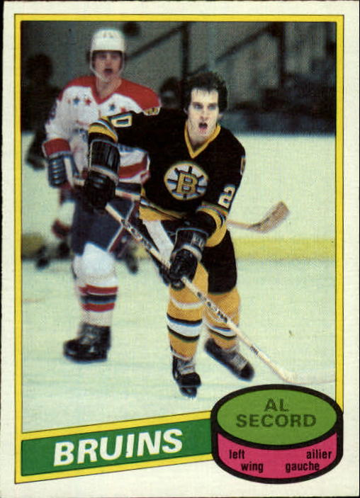 1980-81 O-Pee-Chee #129 Al Secord RC