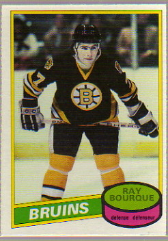 1980-81 O-Pee-Chee #140 Ray Bourque RC