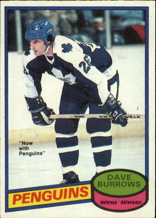 1980-81 O-Pee-Chee #147 Dave Burrows