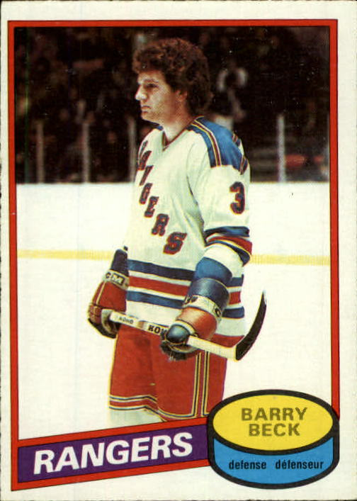1980-81 O-Pee-Chee #170 Barry Beck
