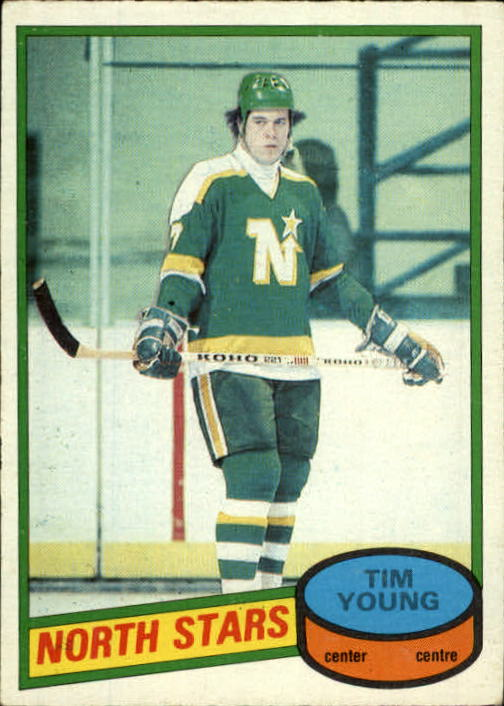 1980-81 O-Pee-Chee #174 Tim Young