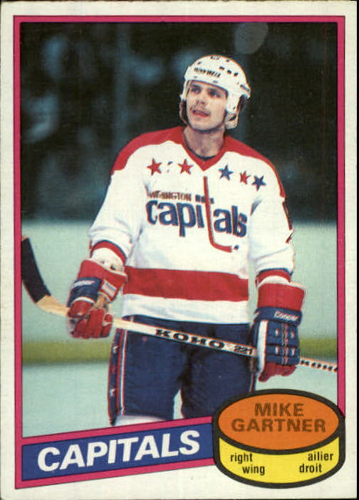 1980-81 O-Pee-Chee #195 Mike Gartner RC front image