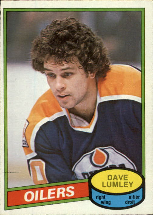 1980-81 O-Pee-Chee #271 Dave Lumley RC