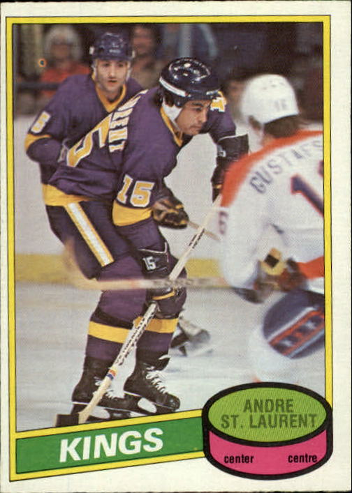 1980-81 O-Pee-Chee #316 Andre St.Laurent