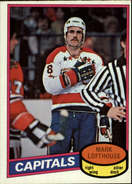 1980-81 O-Pee-Chee #331 Mark Lofthouse RC