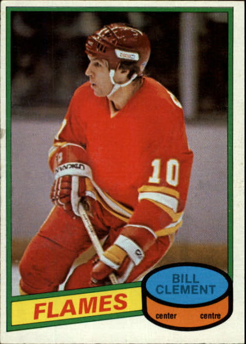1980-81 O-Pee-Chee #376 Bill Clement