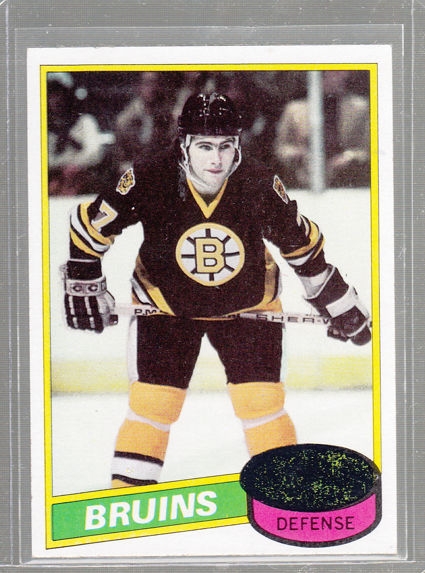1980-81 Topps #140 Ray Bourque RC