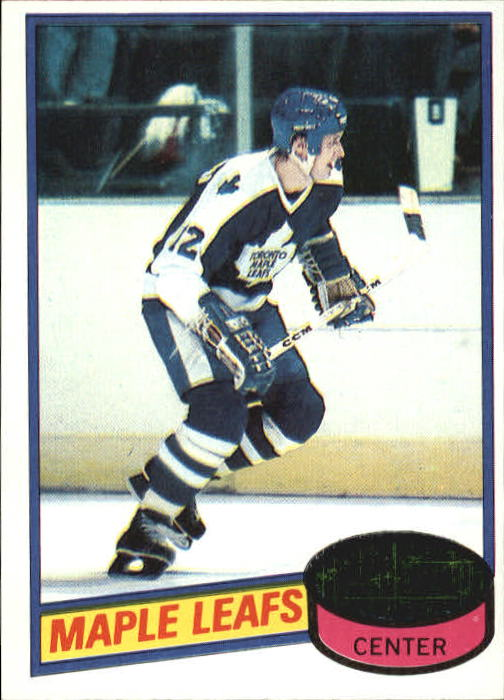 1980-81 Topps #179 Laurie Boschman RC