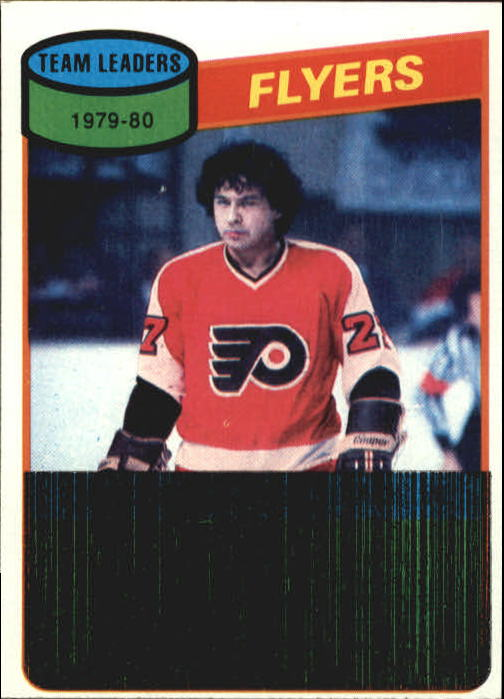 1980-81 Topps #249 Reggie Leach TL/Flyers Scoring Leaders/(checklist back)