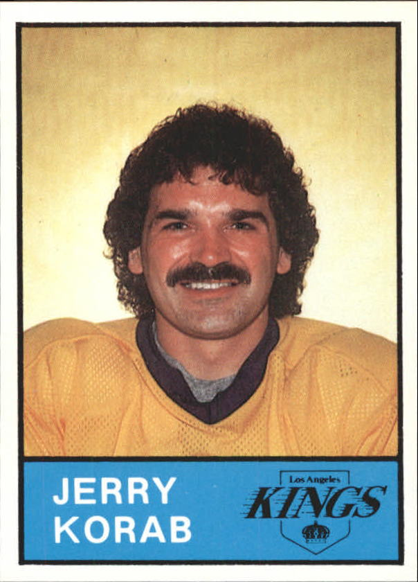1980-81 Kings Card Night #6 Jerry Korab