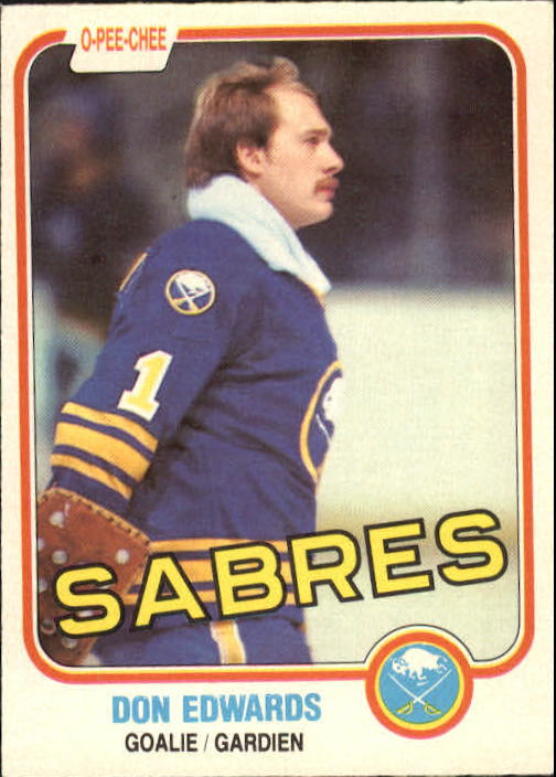 1981-82 O-Pee-Chee #21 Don Edwards