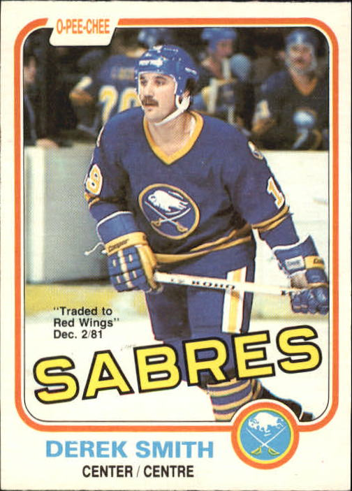 1981-82 O-Pee-Chee #25 Derek Smith
