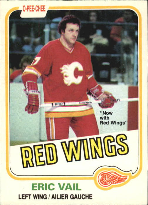 1981-82 O-Pee-Chee #38 Eric Vail