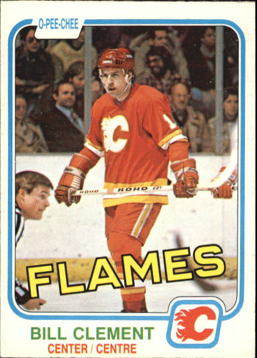 1981-82 O-Pee-Chee #39 Bill Clement