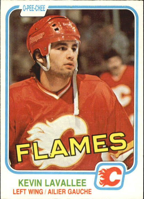 1981-82 O-Pee-Chee #43 Kevin Lavallee RC