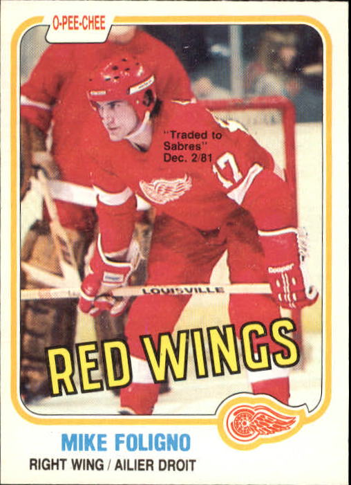 1981-82 O-Pee-Chee #87 Mike Foligno