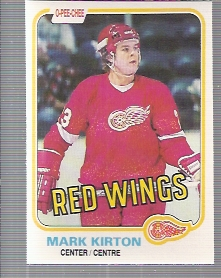1981-82 O-Pee-Chee #90 Mark Kirton RC