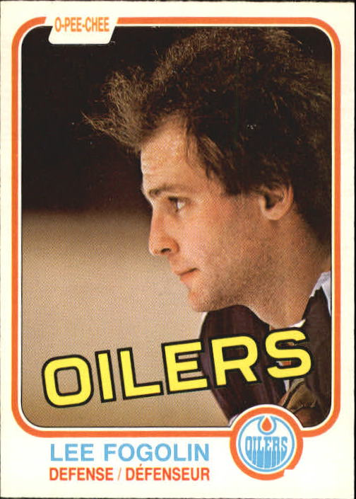 1981-82 O-Pee-Chee #112 Lee Fogolin