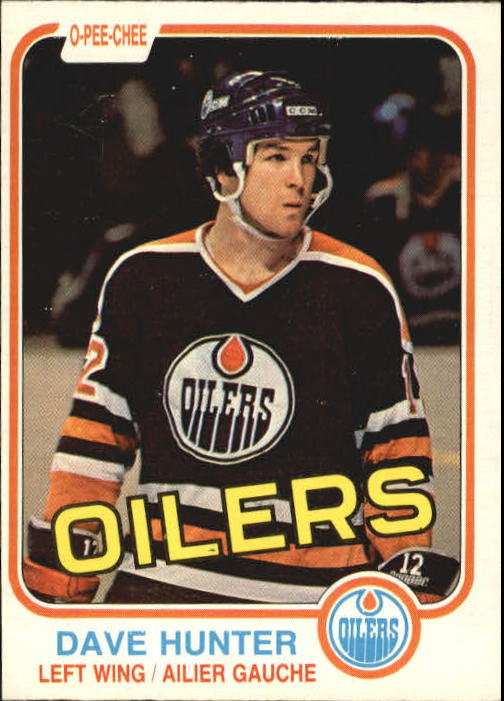 1981-82 O-Pee-Chee #115 Dave Hunter