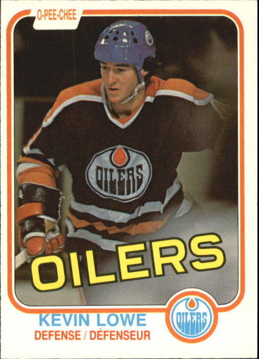 1981-82 O-Pee-Chee #117 Kevin Lowe RC