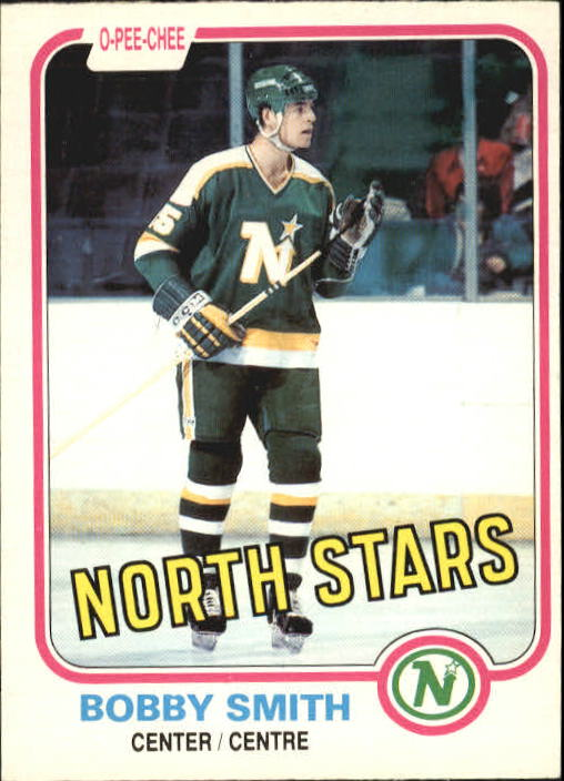 1981-82 O-Pee-Chee #157 Bobby Smith