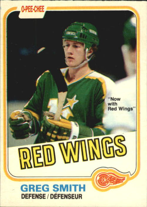 1981-82 O-Pee-Chee #168 Greg Smith