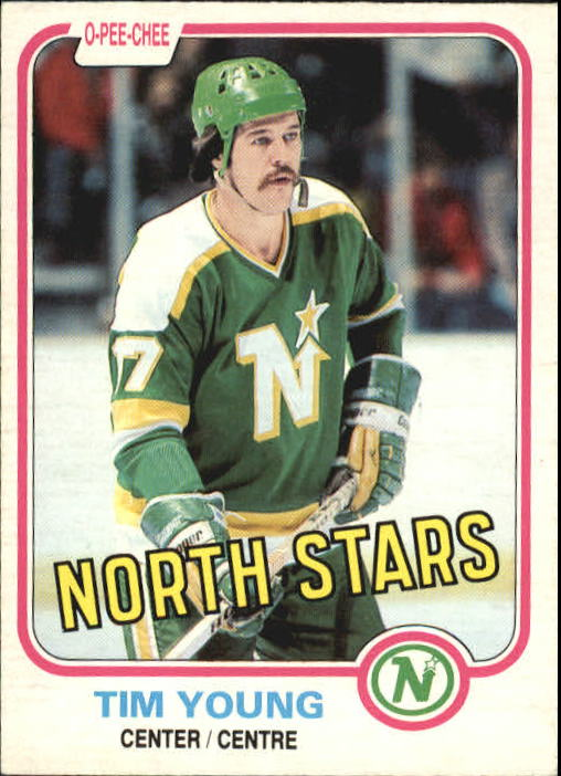 1981-82 O-Pee-Chee #169 Tim Young